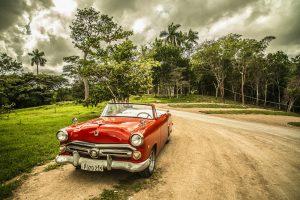 куба старинный автомобиль